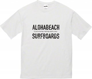 <img class='new_mark_img1' src='https://img.shop-pro.jp/img/new/icons20.gif' style='border:none;display:inline;margin:0px;padding:0px;width:auto;' />ALOHABEACH SURFBOARDS Tee BLACK×BLACK