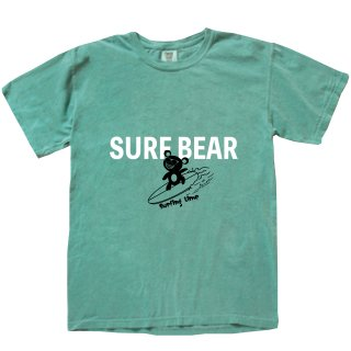 <img class='new_mark_img1' src='https://img.shop-pro.jp/img/new/icons20.gif' style='border:none;display:inline;margin:0px;padding:0px;width:auto;' />SURF BEAR VINTAGE T-SHIRT  VINTAGEGREEN