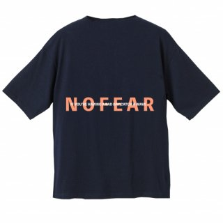 <img class='new_mark_img1' src='https://img.shop-pro.jp/img/new/icons20.gif' style='border:none;display:inline;margin:0px;padding:0px;width:auto;' />NOFEAR BIG SILHOUETTE TEE Navy×Pink Orange