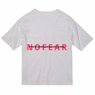 <img class='new_mark_img1' src='https://img.shop-pro.jp/img/new/icons20.gif' style='border:none;display:inline;margin:0px;padding:0px;width:auto;' />NOFEAR BIG SILHOUETTE TEE White×Taffy Pink