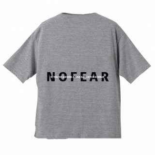 <img class='new_mark_img1' src='https://img.shop-pro.jp/img/new/icons20.gif' style='border:none;display:inline;margin:0px;padding:0px;width:auto;' />NOFEAR BIG SILHOUETTE TEE Gray×Black