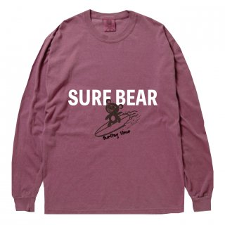 <img class='new_mark_img1' src='https://img.shop-pro.jp/img/new/icons15.gif' style='border:none;display:inline;margin:0px;padding:0px;width:auto;' />SURF BEAR VINTAGE LONG T-SHIRT