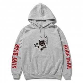 <img class='new_mark_img1' src='https://img.shop-pro.jp/img/new/icons15.gif' style='border:none;display:inline;margin:0px;padding:0px;width:auto;' />『chill time』SURF BEAR HOODIE LIGHT GRAY