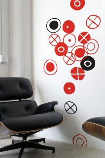 Eames Circles, small (イームズ・サークル,スモール)Black
