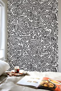 MOVEMENT Pattern Wall tiles(ウォールタイル)black/white