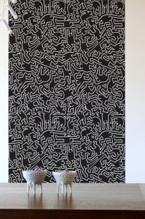 DANCERS Pattern Wall tiles(ウォールタイル)black/white