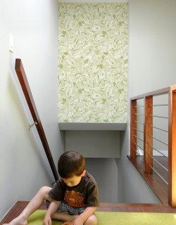 Bird Flurry 〜Pattern Wall Tiles 〜Moss