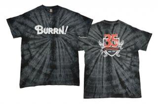 BURRN! 35th anniversary<br> Tシャツ SPIDER BLACK
