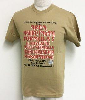 ITALIAN PROGRESSIVE ROCK FESTIVAL <br>Finale 2013 Tシャツ