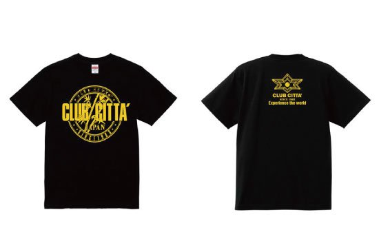 """クラブチッタ""""復刻版"""" <br>オリジナル Tシャツ"""