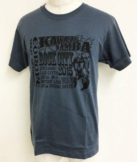 KAWASAKI/NAMBA ROCK CITY VOL.3 2015 Tシャツ
