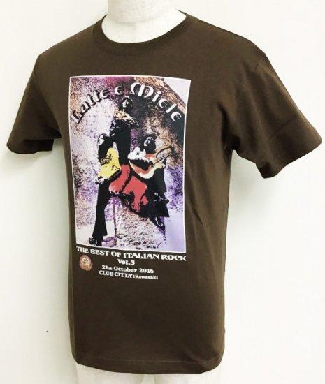 LATTE E MIELE<br>THE BEST OF ITALIAN ROCK Vol.3<br>Tシャツ