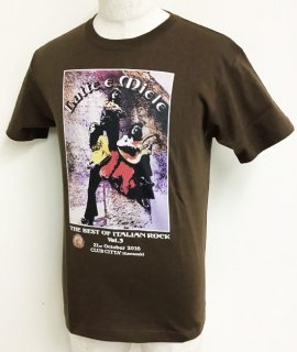 LATTE E MIELE<br>THE BEST OF ITALIAN ROCK Vol.3<br>Tシャツ