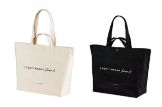 近藤晃央<br>I DON'T WANNA KNOW TOTE BAG<img class='new_mark_img2' src='https://img.shop-pro.jp/img/new/icons1.gif' style='border:none;display:inline;margin:0px;padding:0px;width:auto;' />