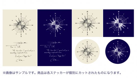H+our #02 オリジナルステッカーセット/6枚組(廣瀬友祐)<img class='new_mark_img2' src='https://img.shop-pro.jp/img/new/icons15.gif' style='border:none;display:inline;margin:0px;padding:0px;width:auto;' />