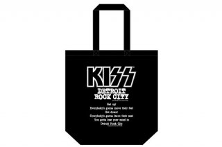KISS 地獄の御言葉トートバッグ<br> 「DETROIT ROCK CITY」 <img class='new_mark_img2' src='https://img.shop-pro.jp/img/new/icons15.gif' style='border:none;display:inline;margin:0px;padding:0px;width:auto;' />