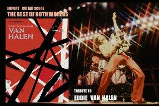 輸入ギタースコア VAN HALEN 『The Best of Both Worlds』
