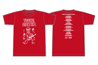 PAUL GILBERT×YOUNG GUITAR 限定コラボTシャツ<br>(PAUL GILBERT)<img class='new_mark_img2' src='https://img.shop-pro.jp/img/new/icons1.gif' style='border:none;display:inline;margin:0px;padding:0px;width:auto;' />