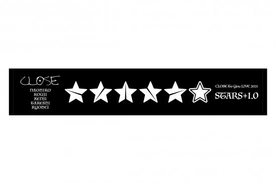 CLOSE<br>[STARS+1.0] マフラータオル