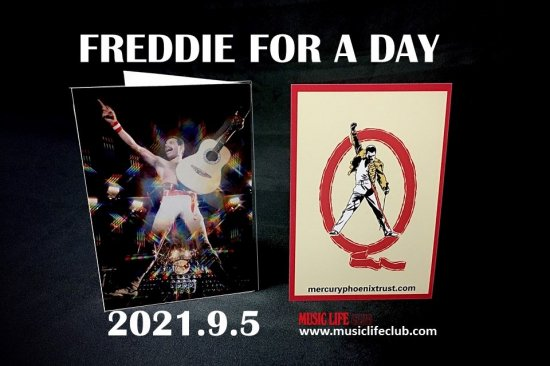 FREDDIE FOR A DAY 2021 配信トークイベント メッセージ・カード・セット<img class='new_mark_img2' src='https://img.shop-pro.jp/img/new/icons15.gif' style='border:none;display:inline;margin:0px;padding:0px;width:auto;' />