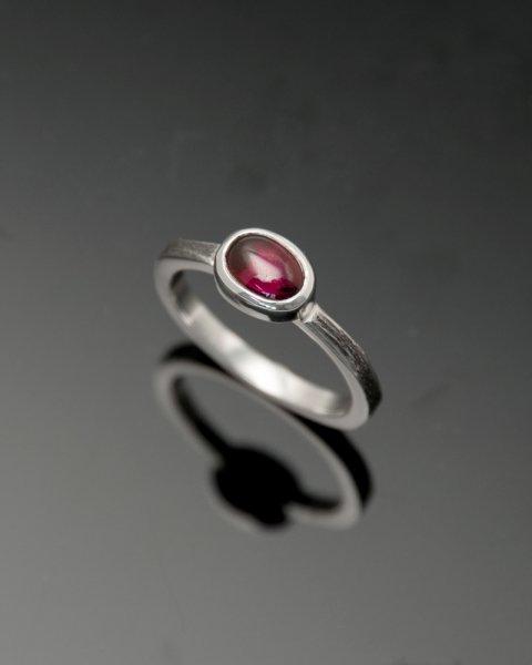 2019 SILVER PERSPIRATION<br> Garnet silver ring LLR-007gn<br>