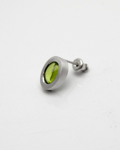 2019 irradiate<br>Peridot silver pierce LLP-011PD<br>