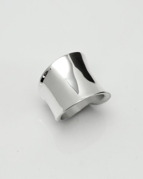Aug. 2020 Leaves Strength <br>Leaf Silver ring LLR-012<br>