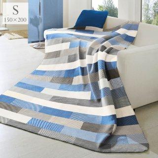 綿混毛布|Interlocked|Blue