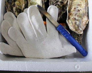 オイスターナイフ+手袋