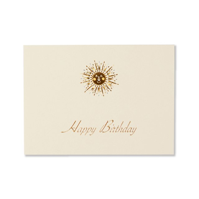 カード 太陽 BIRTH