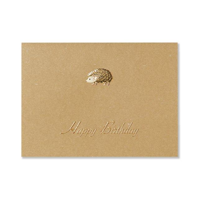 カード ハリネズミ BIRTH