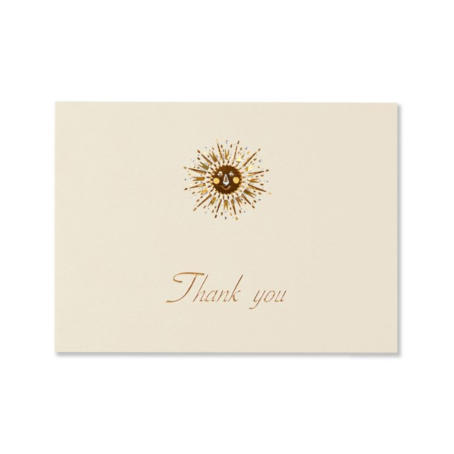 カード 太陽 THANK YOU