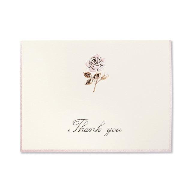カード ローズタンドル THANK YOU
