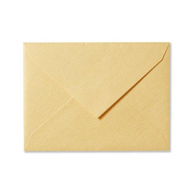 ふみ揃え封筒 イエローゴールド