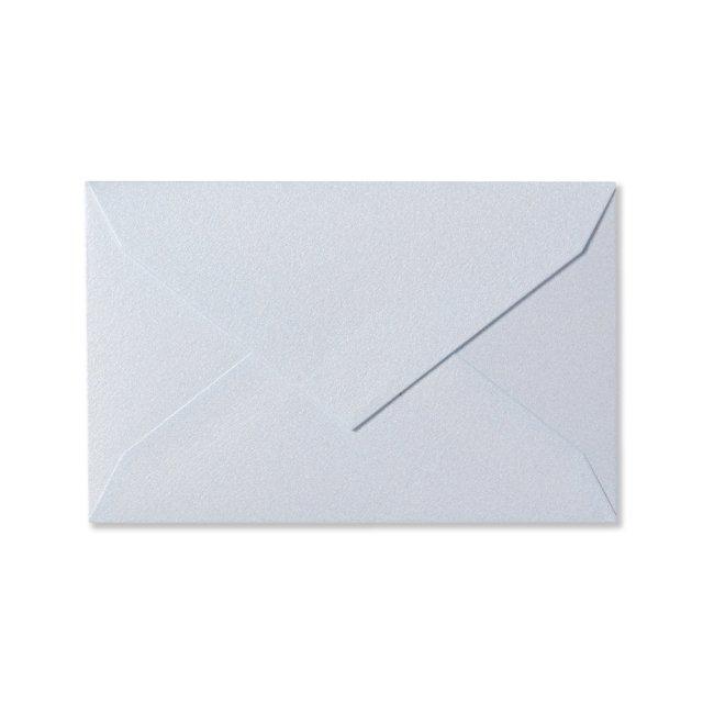 ミニメッセージカード用封筒 パールブルー