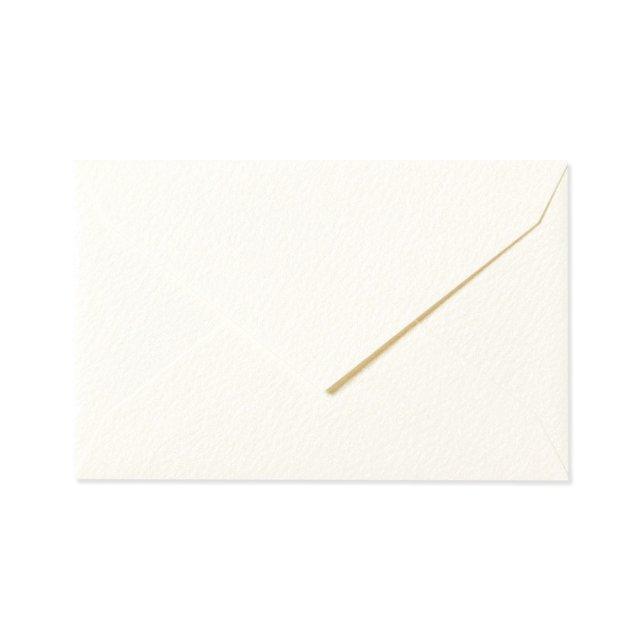 ミニメッセージカード用封筒 パールホワイト