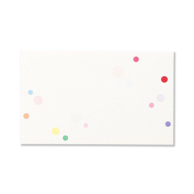 ミニメッセージカード 和紙 mizutama