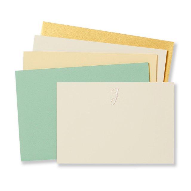 イニシャル カードセット J