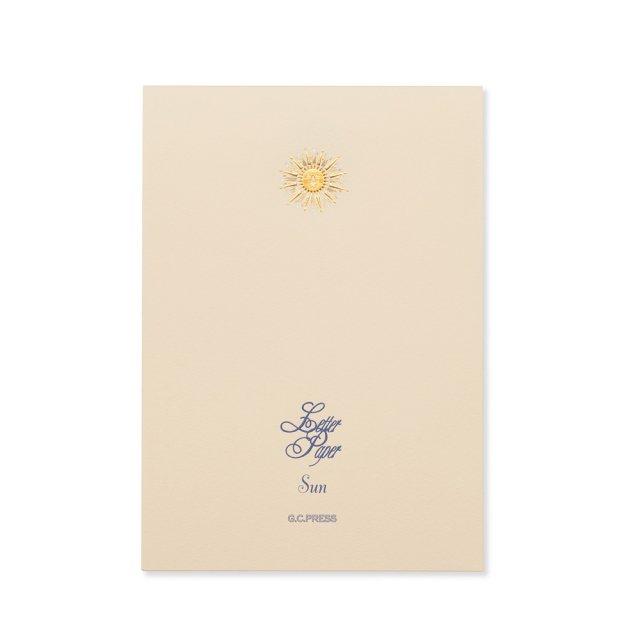便箋 太陽
