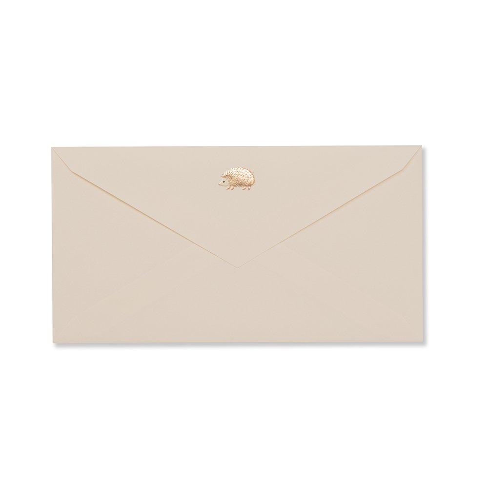 封筒 ハリネズミ