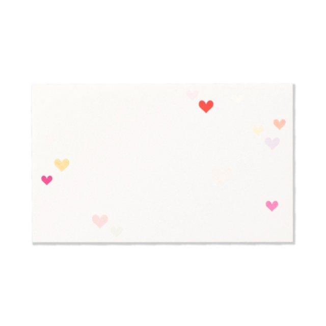ミニメッセージカード 和紙 ハート