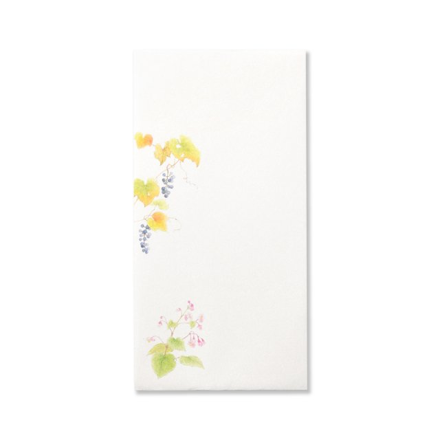 紙司撰 封筒 花の封筒 秋の散歩道
