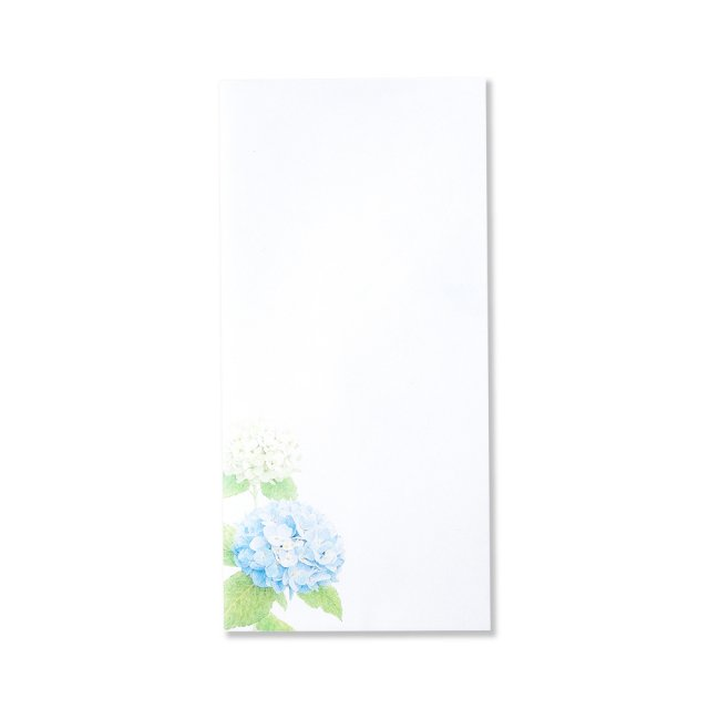 紙司撰 封筒 紫陽花