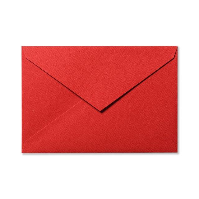 カラー封筒 洋1 5枚 ピュアレッド