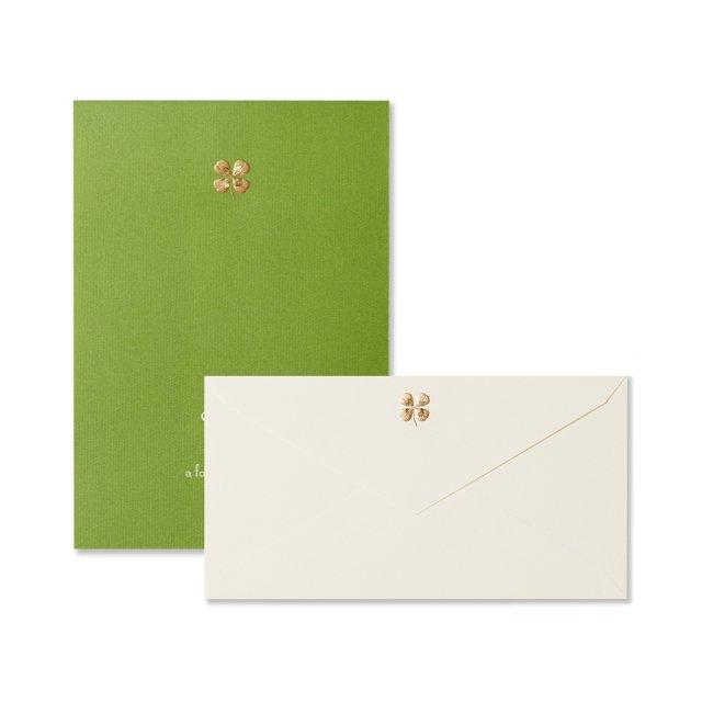 四葉のクローバー 便箋/封筒セット