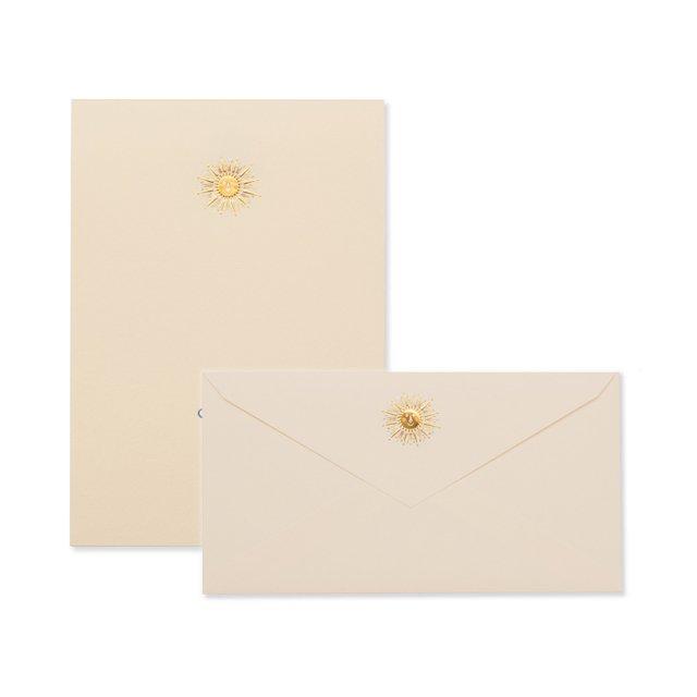 太陽 便箋/封筒セット