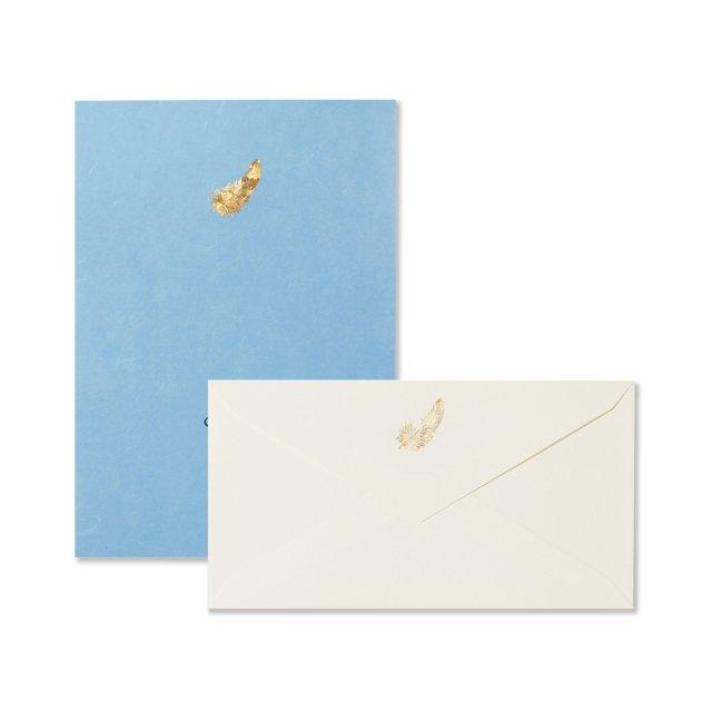 フェザー 便箋/封筒セット