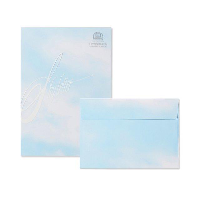 OA対応 空 便箋/封筒セット
