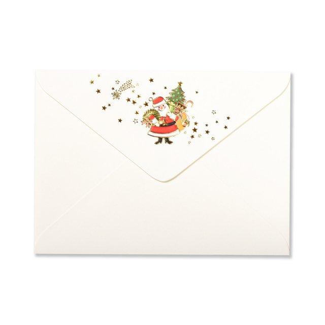 封筒 サンタクロース