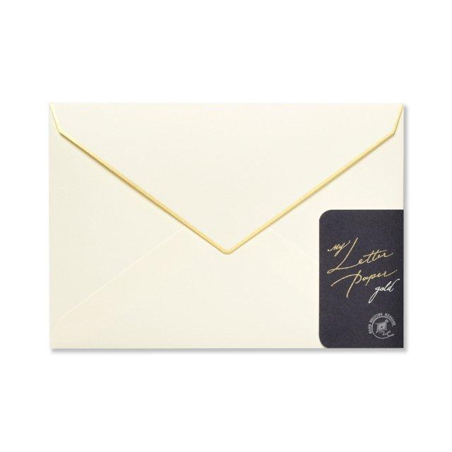 封筒 My Letter Paper gold